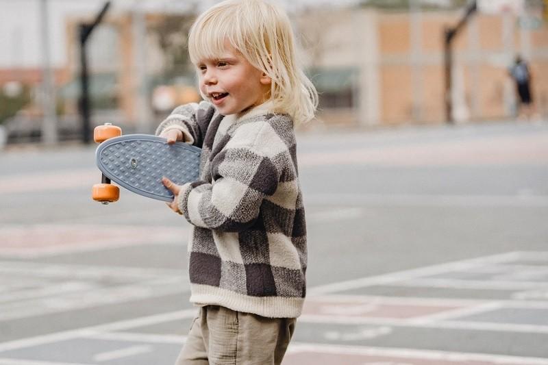 ребенок любит спорт